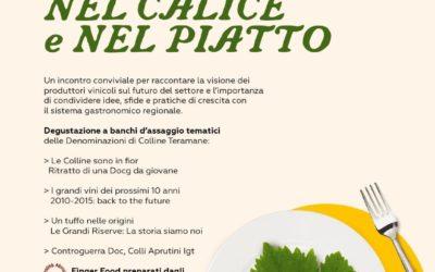L'Abruzzo nel calice e nel piatto